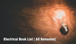 Electrical book list, all semester book list, Polytechnic book list,