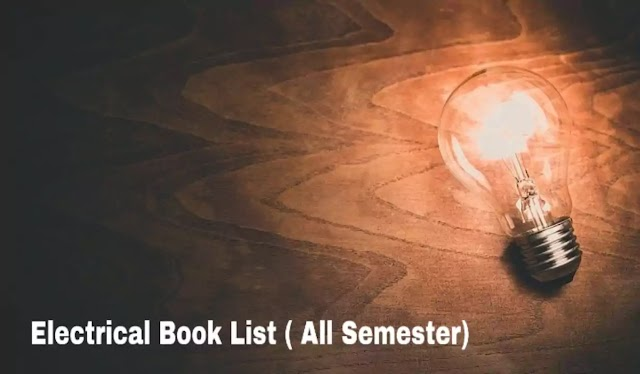 Diploma In Electrical Engineering Book List - All Semester