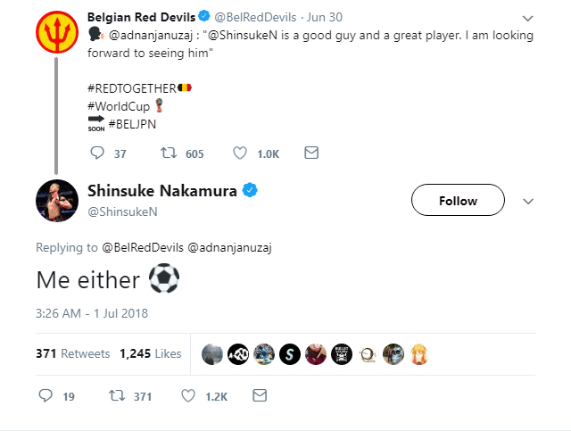 Shinji Kagawa gets mixed up with WWE wrestler Shinsuke Nakamura