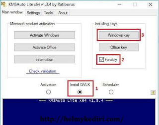 aktivasi windows 10 menggunakan KMS