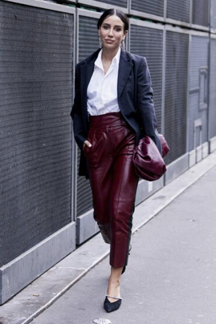 Стильный образ модные брюки 4-3