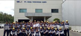 Lowongan Kerja Terbaru SMK di PT Nusa Toyotetsu Engineering KIM Karawang