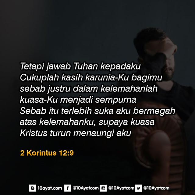 2 Korintus 12:9