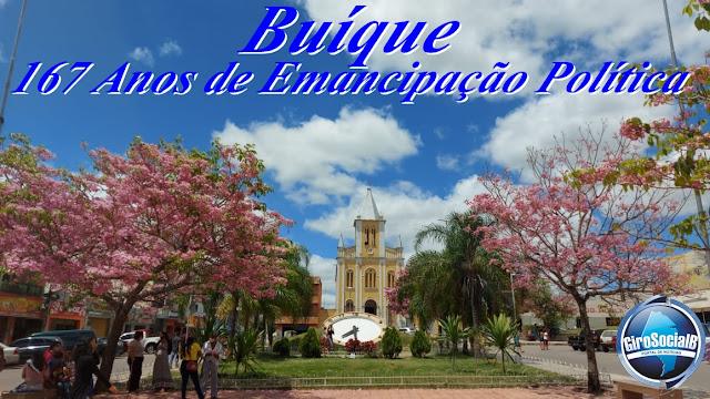 Prefeitura de Buíque celebra emancipação sem eventos e decreta dois feriados, um de aniversário da cidade e outro do padroeiro.