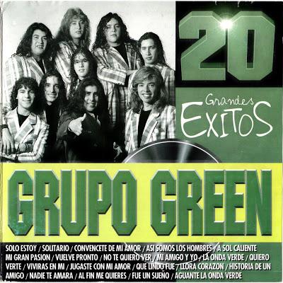GRUPO GREEN - 20 GRANDES EXITOS ( CUMBIA DEL RECUERDO)