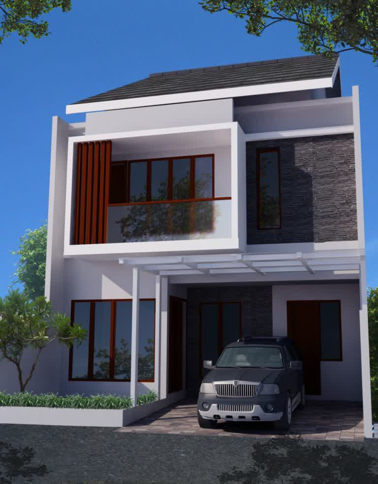 96 Koleksi Gambar Rumah Ideal Minimalis 2 Lantai HD Terbaik