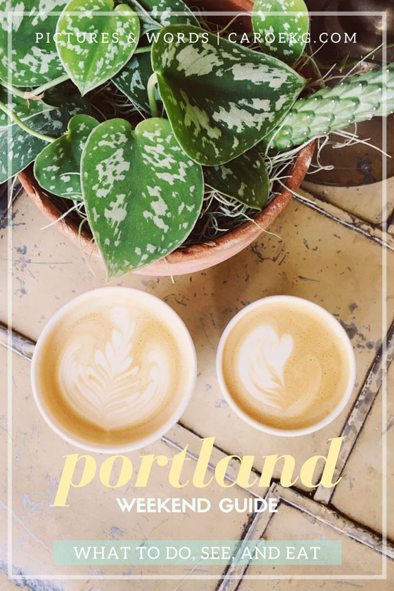 2 days in Portland