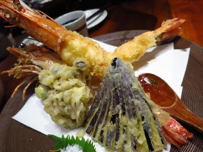 Suju Japanese Restaurant, ooebi tempura