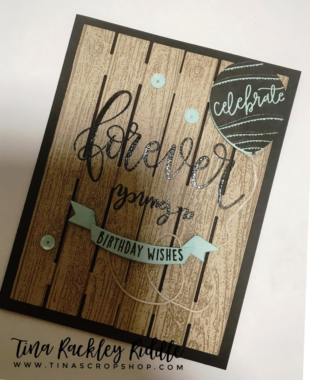 I Loved The Idea Of A Pallet Sign Card Pallets Are So Popular Now After Cut Two Out Kraft Cardstock Used Coordinating Wooden Plank