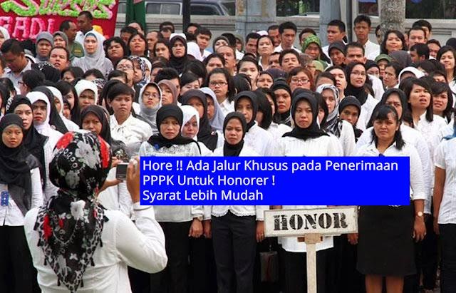 Jalur Khusus Pada Penerimaan PPPK Untuk Honorer