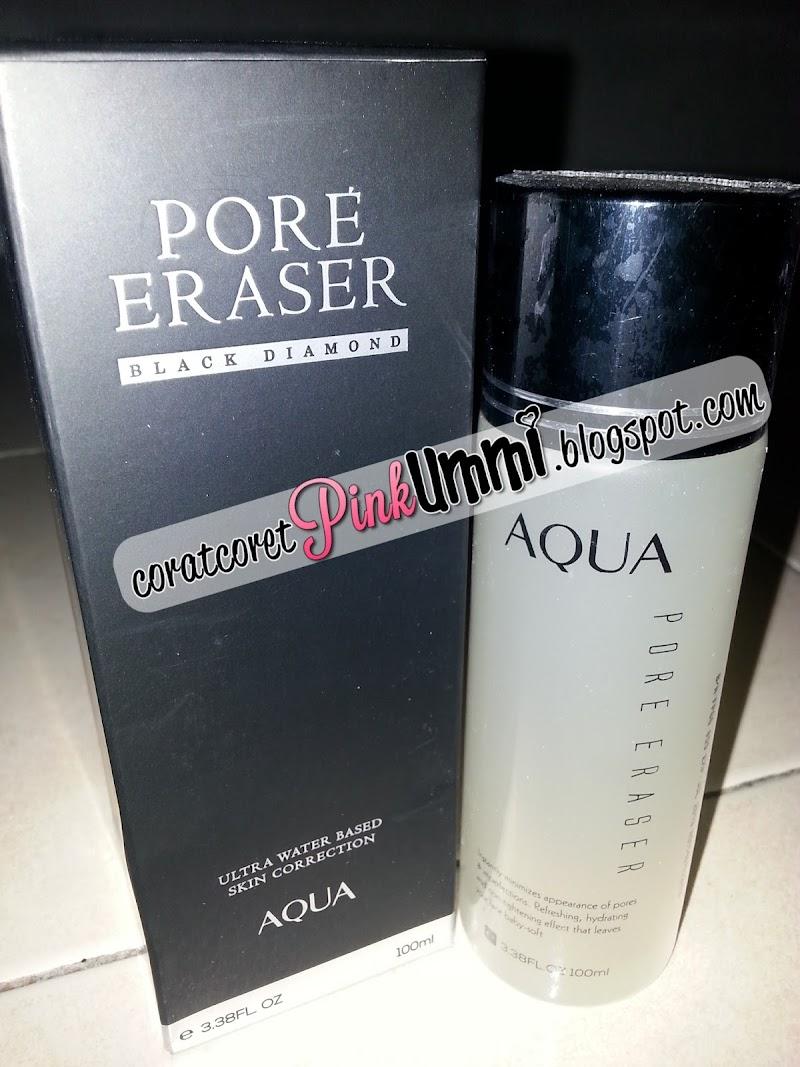 Review : Aqua Pore Eraser Membantu Merawat Masalah Kulit Wajah