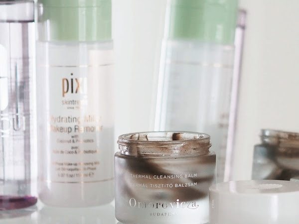 My favourite SPF-dissolving cleansers