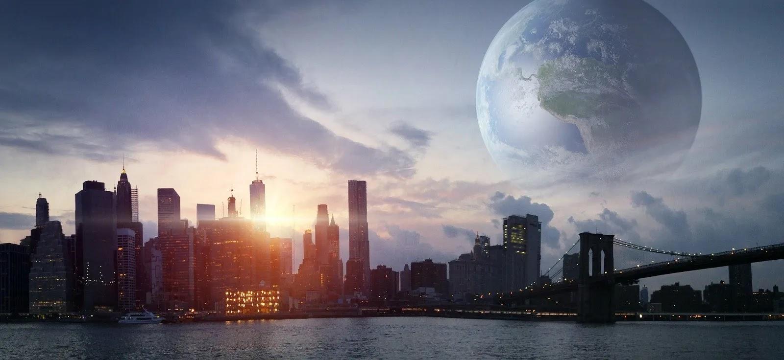 خلفيات خيالية وعصرية لمدينة نيويورك