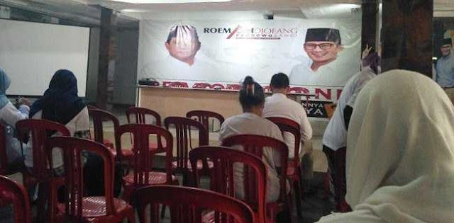 Relawan Prabowo-Sandi Ramai Berkumpul Di Roemah Joeang