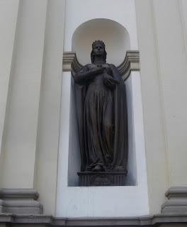 Ивано-Франковск. Кафедральный собор св. Вознесения. Скульптура