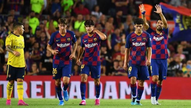 Barcelona 2-1 Arsenal: Report, Ratings & Reaction as Barça Fight Back to Win Joan Gamper Trophy
