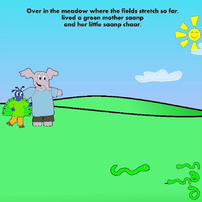 Asha Loves Science: Over in the Meadow by Najla Ahmad