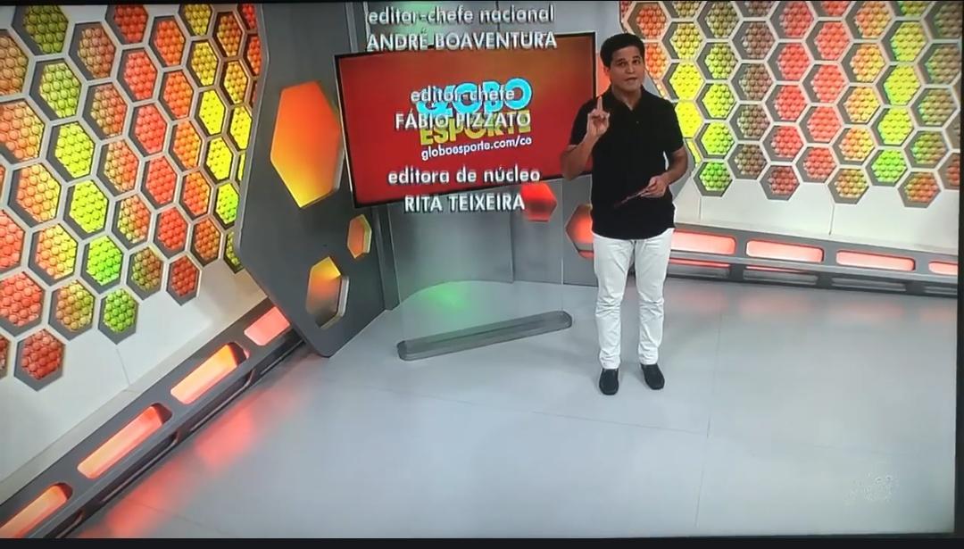 Lindomar Rodrigues Apresentador Do Globo Esporte Ceará Pede