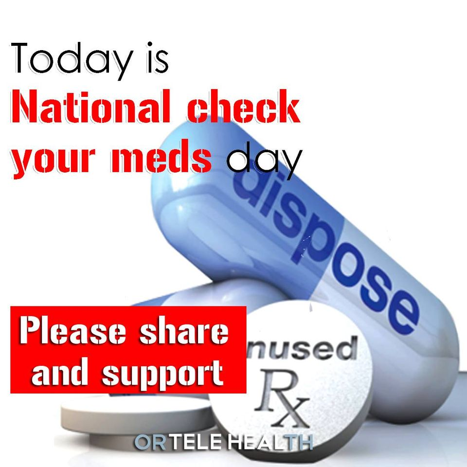 National Check Your Meds Day Wishes for Whatsapp