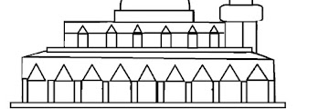Sketsa Masjid Untuk Lomba Mewarnai