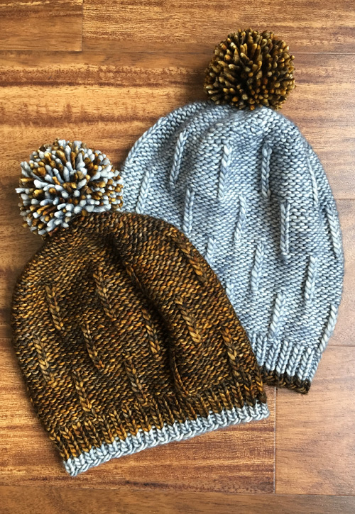 Snowfall Beanie - Knitting Pattern
