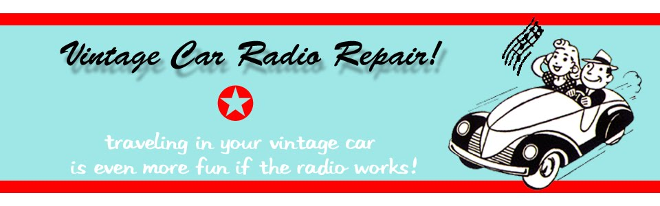 Urban Vintage Car Radio Repair