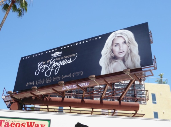 Gigi Gorgeous Emmy fyc billboard
