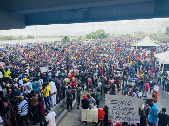 """We Will Start Another Protest If Soldiers Who Killed Lekki Toll Gate Protesters Are Not Arrested In 15 Days"" - Group Tells FG, Army"