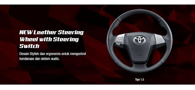Interior  Stir Toyota Avanza Veloz