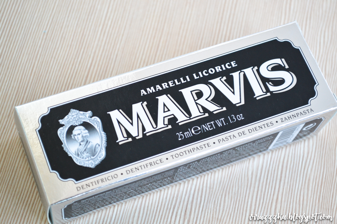 Marvis Amarelli Licorice Mint Toothpaste Review