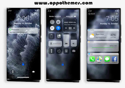 Iphone 11 Dark Theme For Oppo & Realme