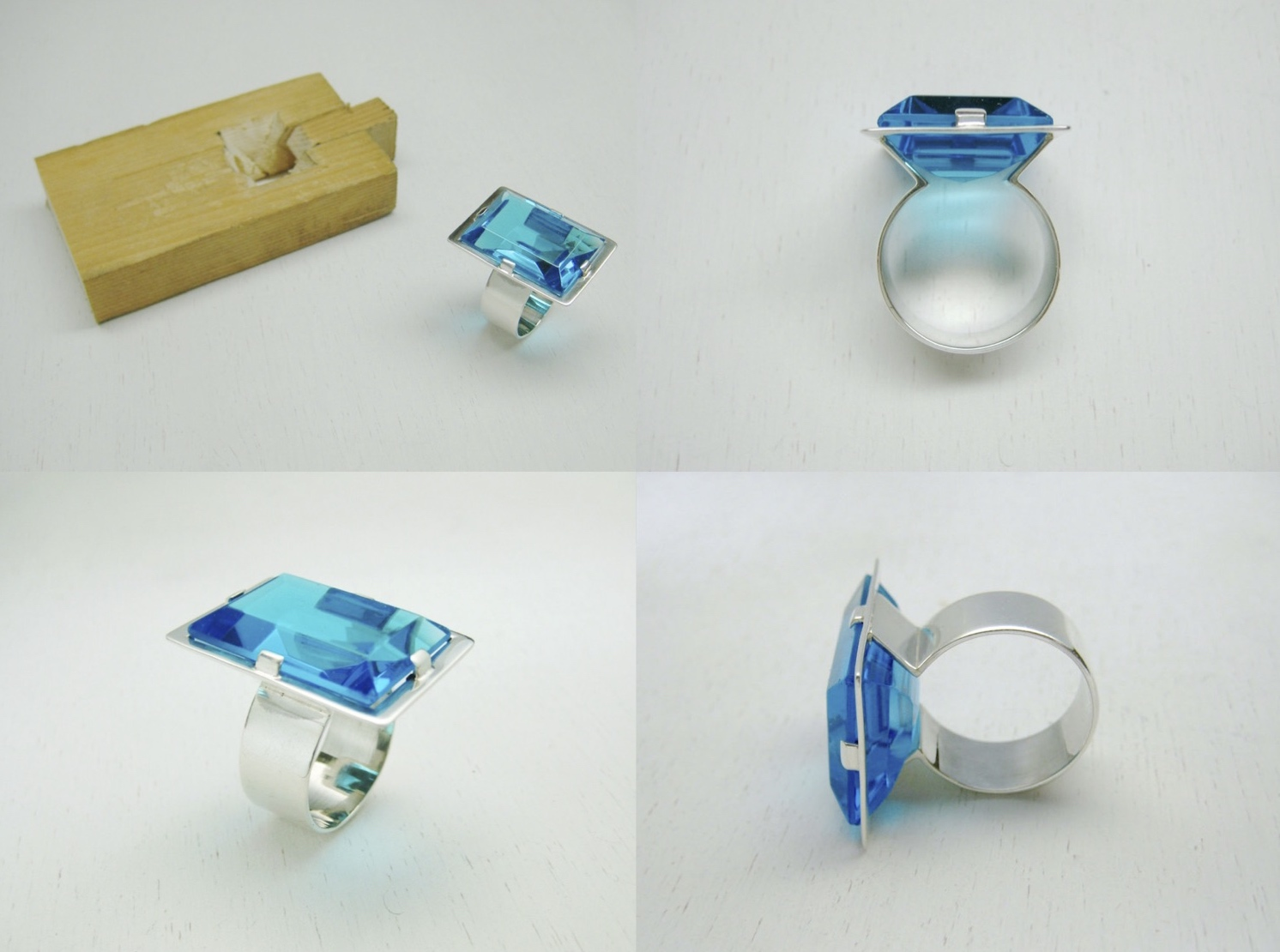 b5e0b9e1d0ea anillo de plata con piedra sin saber qué nombre tiene • un trabajo entre  Tanja y Paka