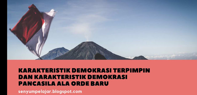 Karakteristik demokrasi Terpimpin dan Pancasila