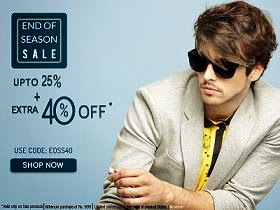 End of Season Sale: Get Upto 25% Off + Extra 40% Off on Men's Clothing at Basicslife