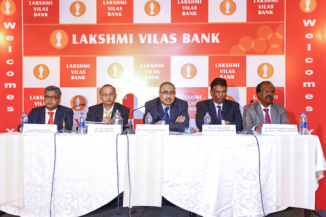 Lakshmi Vilas Bank Net Profit of the bank for the nine months ended Dec'16 up by 55.46%, Y-o-Y