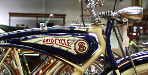 1940s Bicycle Displayed in Museum