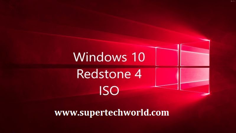 Windows 10 All in One 1803 Redstone 4 ISO Free Download - Super Tech