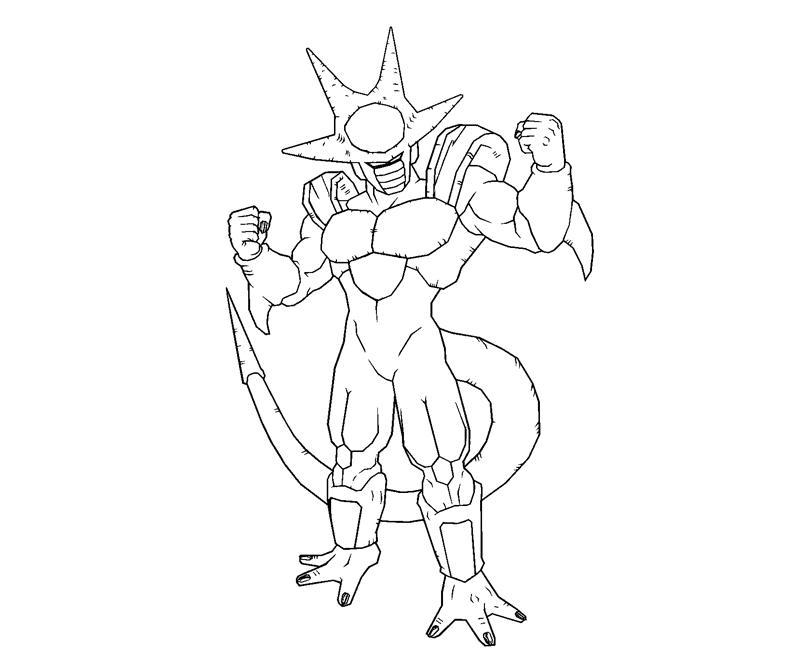 Vegeta De Dragon Ball Z U2013 Dibujos Para Pintar