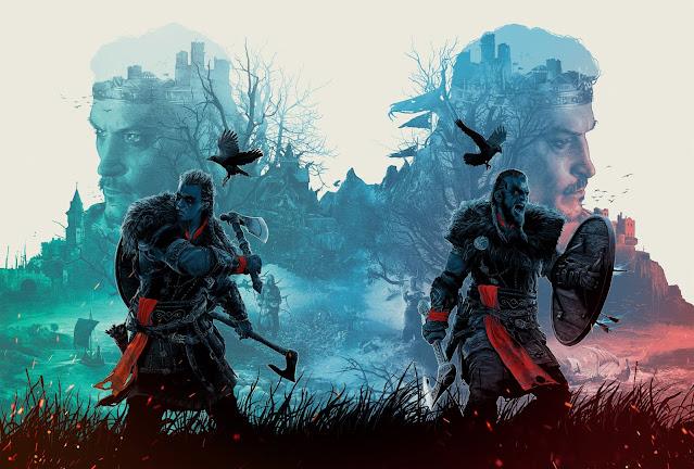 Assassin's Creed Valhalla sélections d'images in Game en fond d'écran !