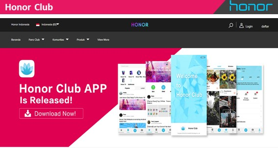 Honor Club - Blog Mas Hendra