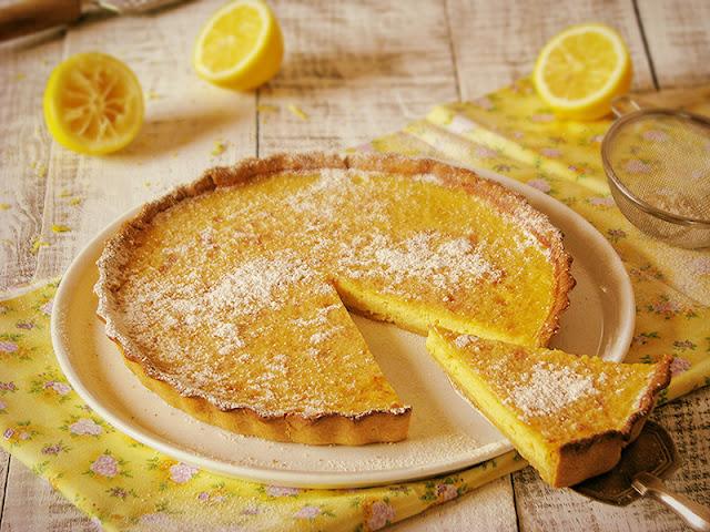 Recette facile de tarte bio au citron le carnet sur l'étagère