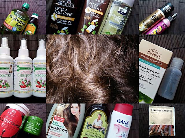 Plan pielęgnacji włosów na listopad 2016