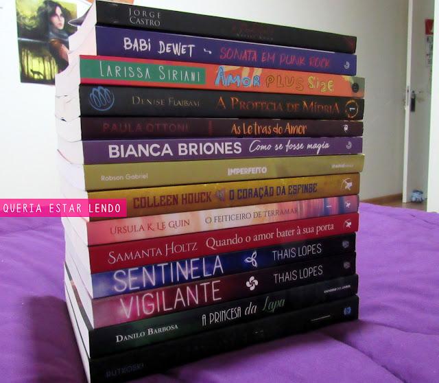 Book Haul: Especial da Bienal do Livro!