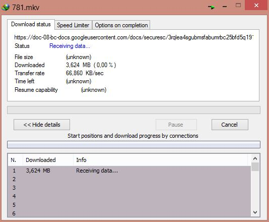 Tips Memunculkan Ukuran File Download di IDM saat Download dari Goole Drive