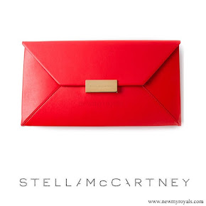 Princess Victoria carried Stella McCartney Beckett Clutch