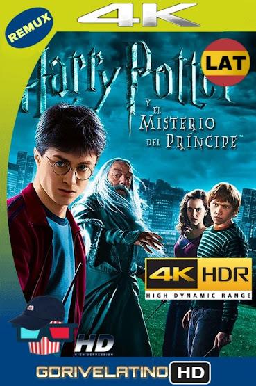 Harry Potter y El Misterio del Príncipe (2009) REMUX 4K HDR Latino-Ingles MKV