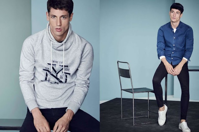 H&M Men's Casual Style Lookbook 2016
