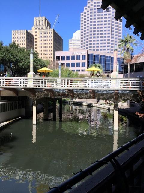 San Antonio Riverwalk - view from Acenar