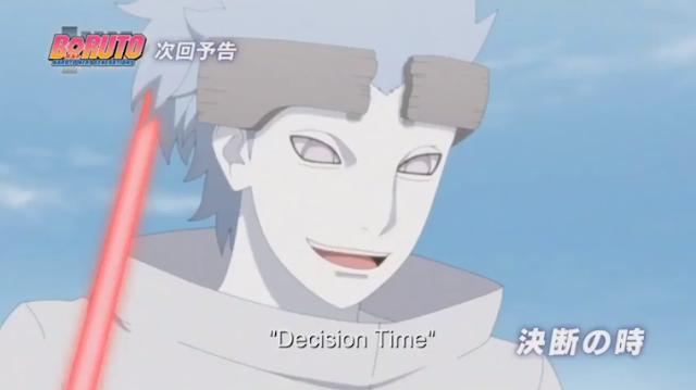 Sinopsis Resmi Boruto 124 I Bebasnya Urashiki - Decision Time