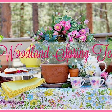 Spring Nesting Blog Hop | Afternoon Tea